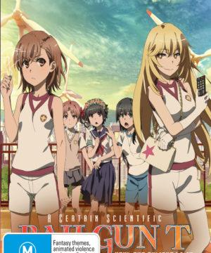A Certain Scientific Railgun T (Season 3) Part 1 (Eps 1-12) (Blu-Ray)