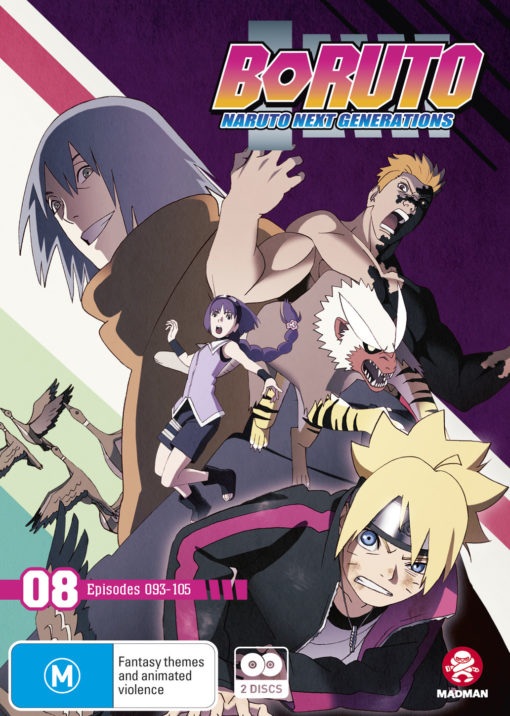Boruto: Naruto Next Generations Part 8 (Eps 93-105)