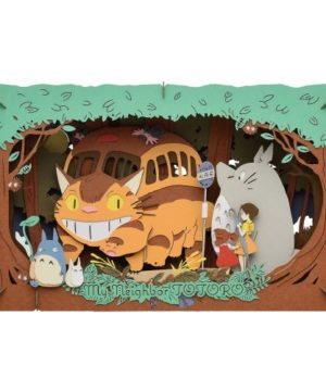 My Neighbor Totoro PAPER THEATER Cat Bus Arrival