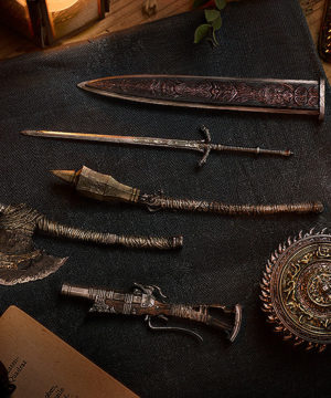 figma PLUS: Bloodborne: The Old Hunters Hunter Weapon Set