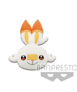 Pokemon Big Face Cushion Scorbunny