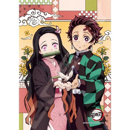 Demon Slayer Tanjiro & Nezuko Crystal Jigsaw Puzzle 208 Piece 208-AC67