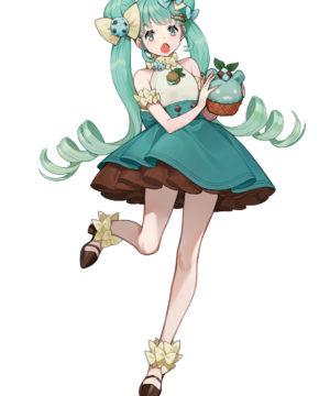 Hatsune Miku Sweet Sweets Chocolate Mint