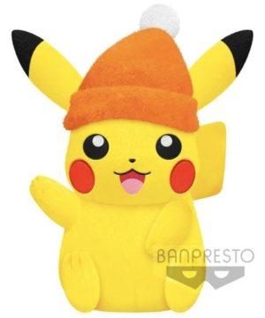 Pikachu Winter Style Big Plush
