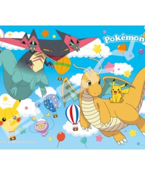 Pokemon Pikachu and Air Travel Jigsaw Puzzle