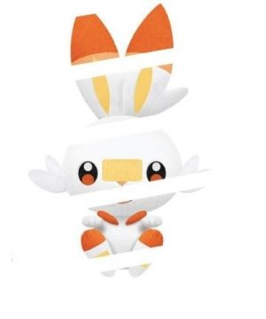 Pokemon Scorbunny Plush 2577518B