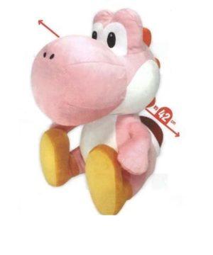 Super Mario Large Pink Yoshi Plush