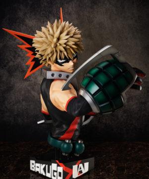 """""""My Hero Academia"""" Bakugo Katsuki 1/1 Scale Bust Figure"""