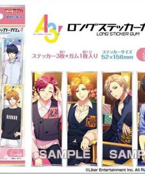 A3! Long Sticker Gum 4 Shokugan by Ensky