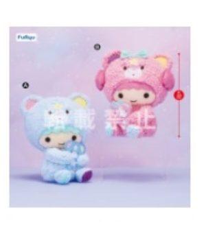 Little Twin Stars x Kuromi Plush Blue Ver