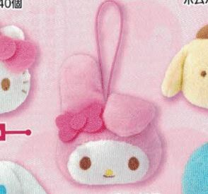 Sanrio Characters Face Mascot My Melody