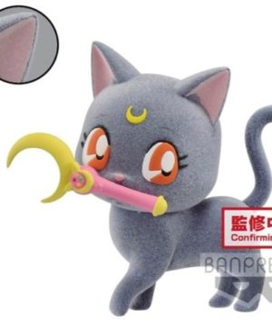 Sailor Moon Fluffy Puffy Luna Plush A