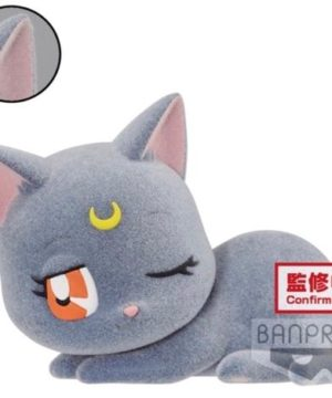 Sailor Moon Fluffy Puffy Luna Plush B