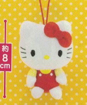 Sanrio Characters Hello Kitty Mascot Plush Red