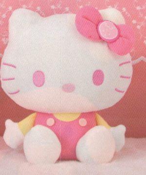 Sanrio Chracters Strawberry Milk Hello Kitty Plush