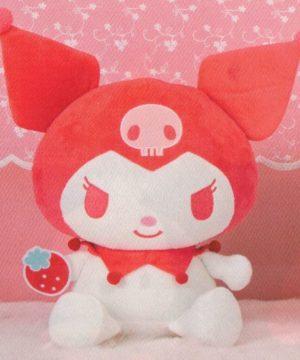 Sanrio Chracters Strawberry Milk Kuromi Plush
