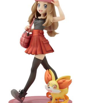 Pokemon Serena with Fennekin ARTFX J Statue