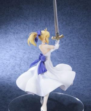 Saber White Dress Figure