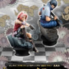 MegaHouse Sakura and Sasuke Chess Piece Collection