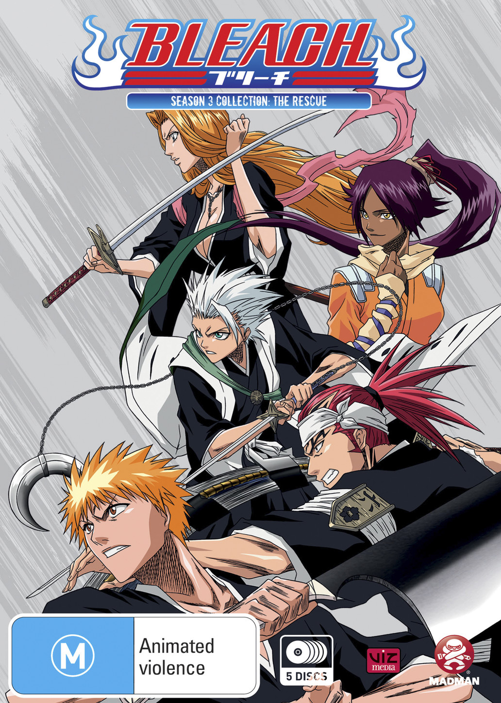 Bleach Collection 03 (Eps 42-63) - Animeworks - All things ...